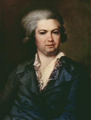 Dmitry Grigorievich Levitsky. Portrait of count Artemiy Ivanovich Vorontsov
