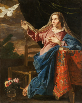 The Annunciation. The Virgin Mary