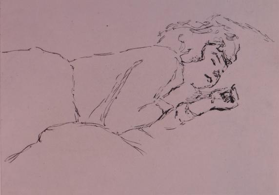 Владимир Семенович Чернецов. Спящая