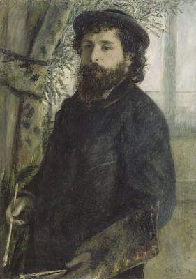 Pierre-Auguste Renoir. Portrait Of Claude Monet