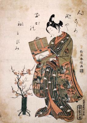 Судзуки Харунобу. Сюжет 8