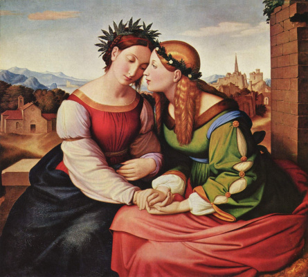 Johann Friedrich Overbeck. Italy and Germany