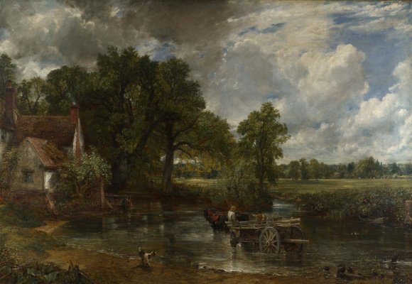 John Constable. The Hay Wain