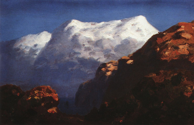 Arkhip Ivanovich Kuindzhi. Mountains