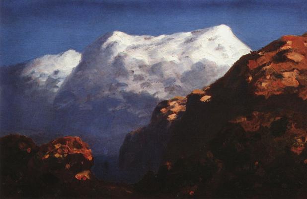 Arkhip Ivanovich Kuindzhi. Mountains