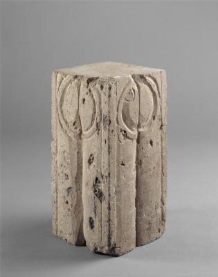 Constantine Brancusi. Model of a column of kisses.