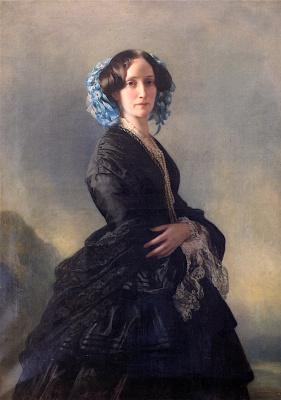 Franz Xaver Winterhalter. The Dowager Grand Duchess Sophia of Baden