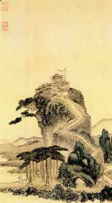 Shen Zhou. Landscape 034