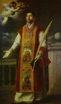 Бартоломе Эстебан Мурильо. Святой Родригес
