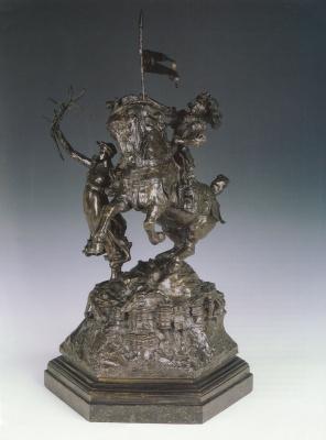 Альфред Гилберт. Святой Георгий и дракон