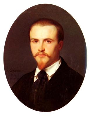 Alexandre Cabanel. Self-portrait