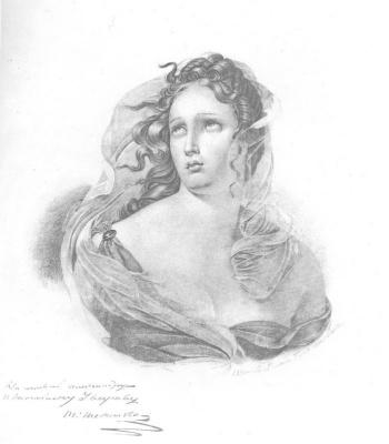 Taras Grigorievich Shevchenko. Female head