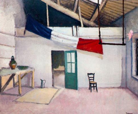 Albert Marquet. Studio in Marseille