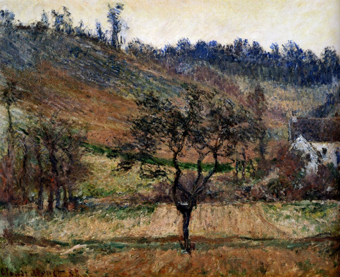 Claude Monet. The Valley Of Falaise