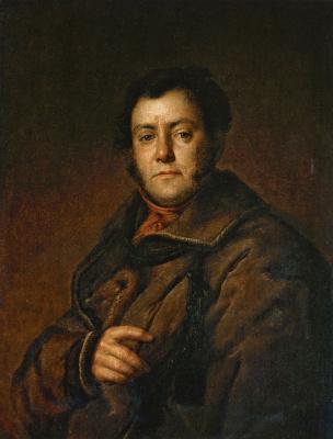 Василий Андреевич Тропинин. Портрет В. М. Яковлева