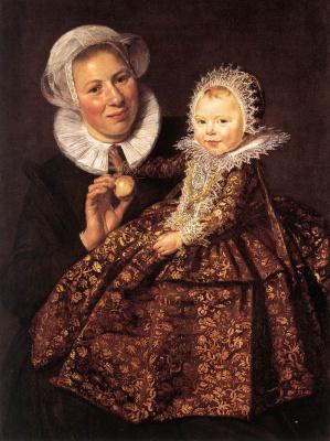 France Hals. Catharina Hooft and Her Nurse
