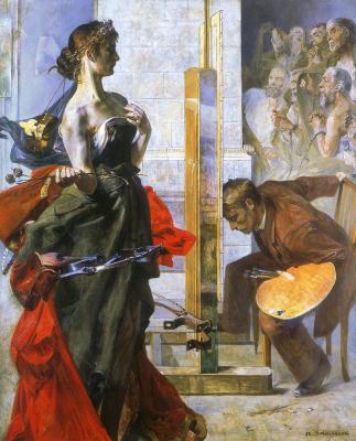 Jacek Malchevsky. Artist and Muse