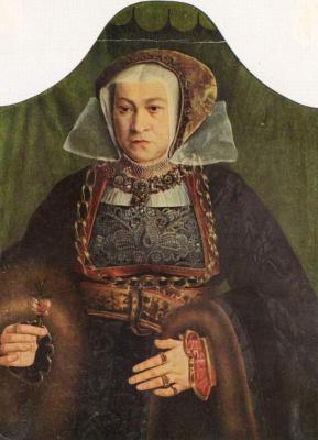 Bartholomeus Brain. Female portrait