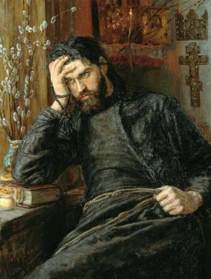 Константин Аполлонович Савицкий. Инок (Послушник)