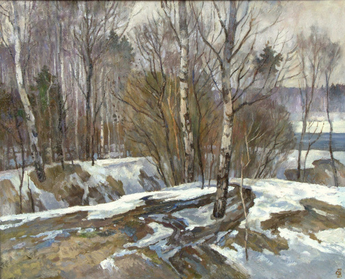 Oleg Borisovich Zakharov. Spring studies