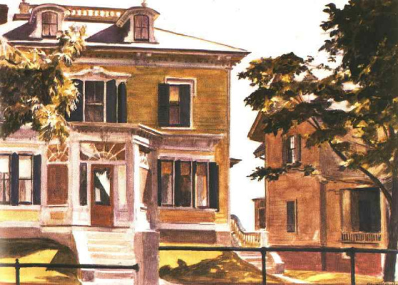 Edward Hopper. Davis House