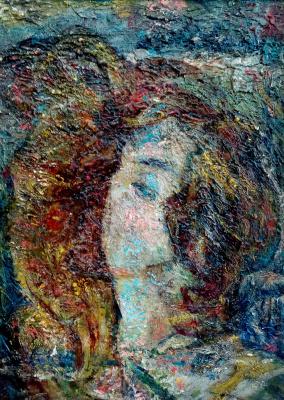 Victor Fedorovich Chudin. Romantic portrait