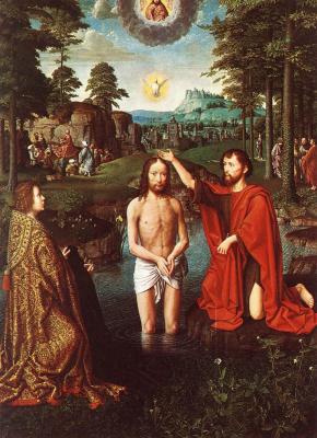Герард Давид. Крещение