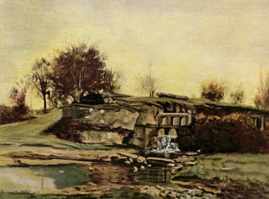 Gustave Courbet. Quarry in Optevoz