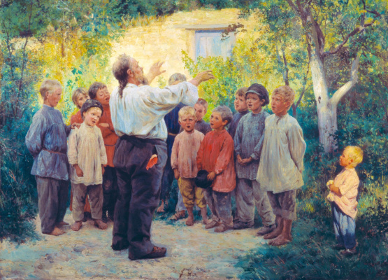 Nikolay Aleksandrovich Yaroshenko. Choir.
