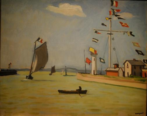 Albert Marquet. Port...