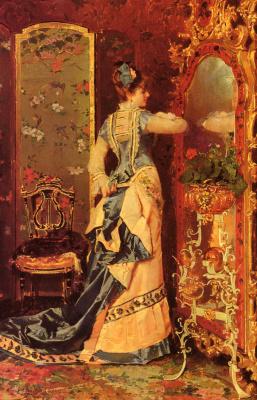 Луис Альварес Катала. Женщина у зеркала