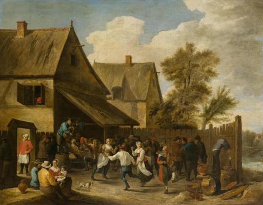 David Teniers the Younger. Kermessa