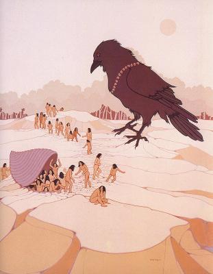 Вальжан Хессинг. Большая птица
