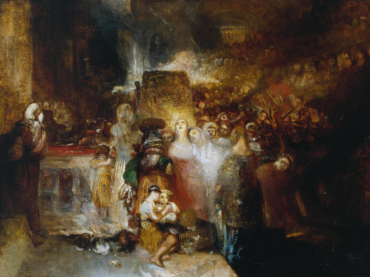 Joseph Mallord William Turner. Pilate, wash your hands