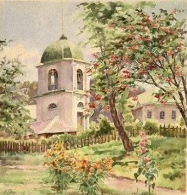 Olga Alexandrovna Romanova. The bell tower