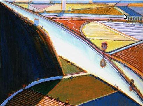 Wayne Thibaut. Landscape 5