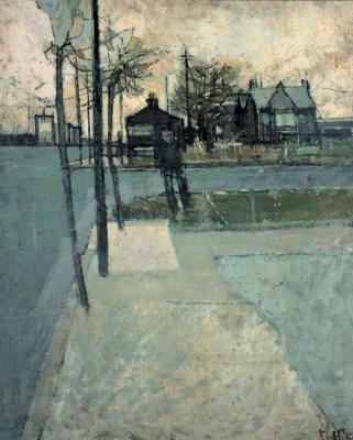 David Hockney. Landscape