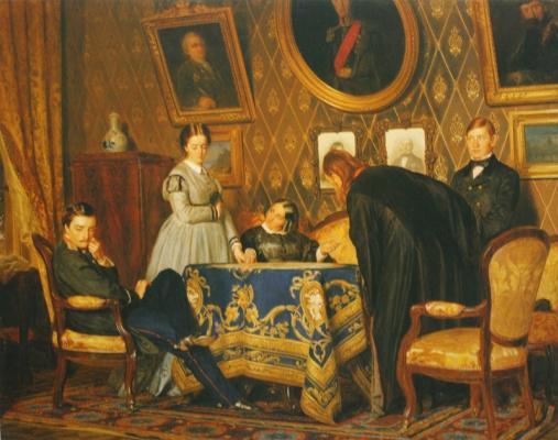Nikolai Vasilyevich Nevrev. Pupil. 1867
