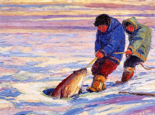 Флейримонд Константинеу. Рыбалка