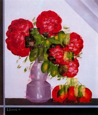 Энрике Бернад. Цветы в вазе