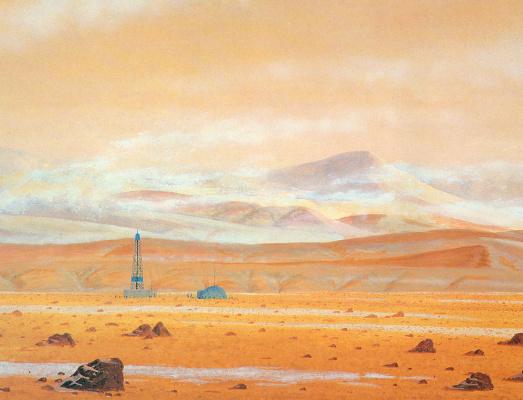 William Hartmann. Drilling