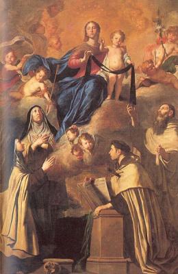 Пьетро Новелли. Дева Мария