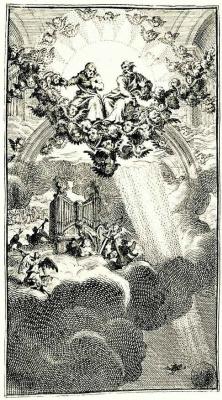 Уильям Хогарт. Совет на небесах