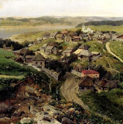 Георгий Ярцев. Село