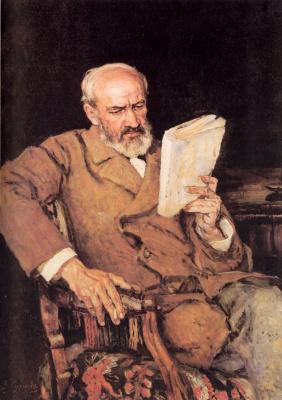 Vasily Ivanovich Surikov. Portrait Of D. A. Yazerski