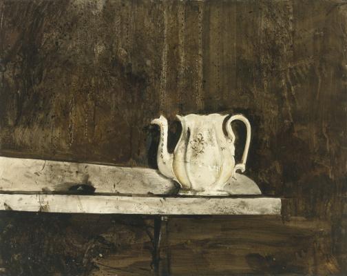 Andrew Wyeth. Kettle Christina