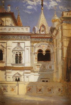 Terem Palace. Exterior view