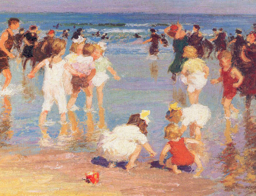 Эдвард Генри Поттаст. Игры на берегу