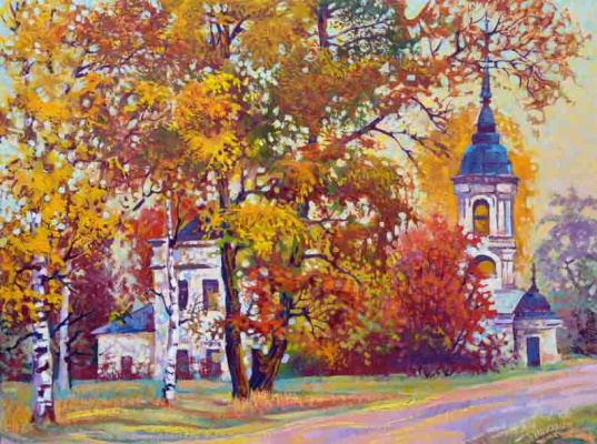Vasily Ivanovich Ptyukhin. Road to the settlement