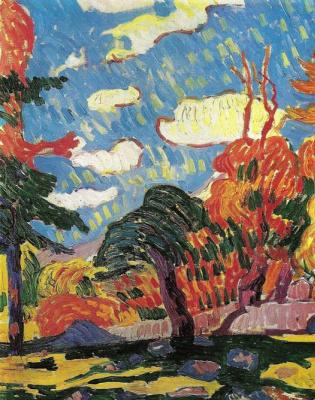 Giovanni Giacometti. Landscape